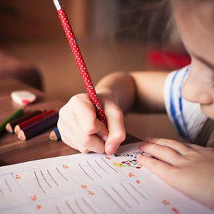 ילדים כותבים