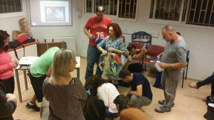 קורס תיאורטי ומעשי להכרות עם הויסות החושי – 5 מפגשים